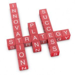 Strategy, innovation and planning crossword