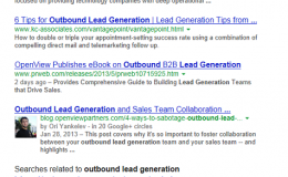 Bottom of Page SERPs