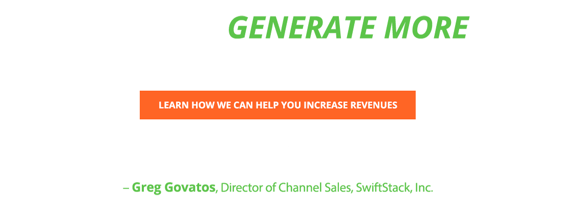 Generate More High Quality Leads